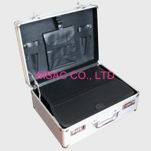 China Mens Aluminum Briefcase Big Space , Tool Packing Large Aluminum Briefcase on sale