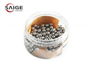 China GCr15 Chrome Steel Grinding Balls , 5mm 6mm 7mm Steel Ball Bright Surface on sale
