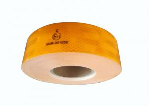 Quality Industrial White Safety Reflective Tape For Trailers Road Warning Signs In for sale