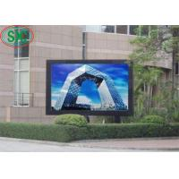 High Brightness And Definition LED Billboards For Advertisement / Stadium