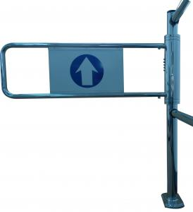 China Swing Turnstile,Supermarket security swing mechanical gate on sale