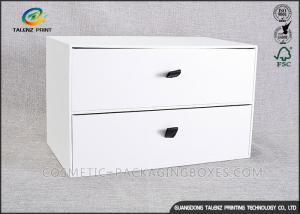 China Customizing Cardboard Display Boxes , Cardboard Pop Displays With Big Drawer on sale