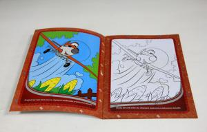 China Children Softcover photo Book Printing Saddle Stitched Binding With Die Cutting on sale