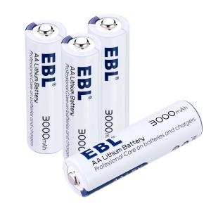 China Long Lasting 3000mAh Rechargeable Cell Batteries , AA Lithium Ion Battery 1.5V Anti leakage on sale