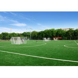 High Performance Rugby Artificial Turf Non - Infill Artificial Cricket Pitch No Pollution