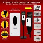 Wall Mounted Hand Sanitizer Dispenser Floor Hand Sanitizer Dispenser For School