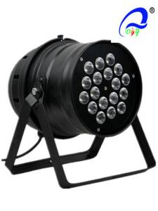 China 18pcs 1W / 3W LED Multi Color Par 64 Beam Angle LED Par Bulbs High Brightness on sale