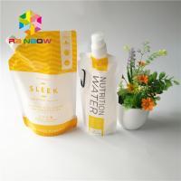 5oz/7oz Plastic Spout Pouch Packaging Transparent Energy Drink Bag Recyclable