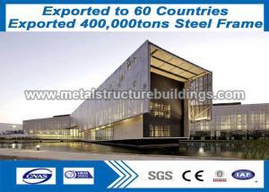 China Metal Work Fabrication Formed 60x100 Prefab Steel Frame Building Muti Floor on sale