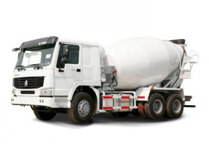 China High Efficiency 6CBM 290HP 6X4 LHD Concrete Mixer Truck , Cement Mixture Truck on sale