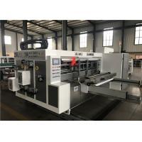 Carton Corrugated Carton Flexo Printer Slotter Machine Paper Cutting Machine