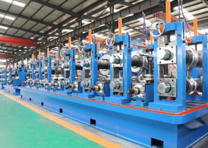China Friction Saw Cutting ERW Pipe Mill / SS Tube Mill Machine on sale