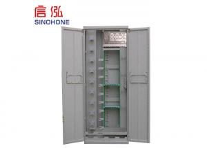 China Fully Closed Fiber Distribution Cabinet , Fiber Optic Distribution Unit High Density on sale
