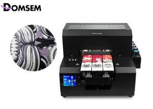 China Mini Format A4 UV Flatbed Printer Domsem 0.1mm Printing Precision For PVC Card on sale