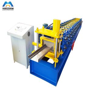 China High Precise Roll Forming Machinery Shutter Door Frame 17 Rows 45# rollers on sale