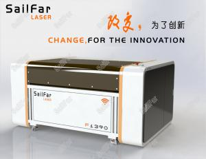 China 100W CNC Laser Cutting Machine For Acrylic / Rubber / Plywood / Rubber 1300 X 900MM on sale