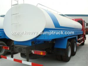 China 20 CBM Water Tank Truck With Dual Circuit Compressed Air Brake System on sale