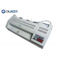 China Manual Plastic Card Making Machine Simple Card Roll Laminator / Order Book Roll Laminating Machine on sale
