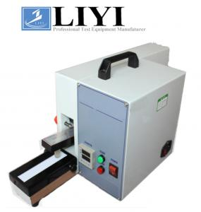 China Color Fastness Textile Testing Equipment / Power - Driven Crock Meter on sale