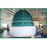 China Islam Masjid Shape Custom Advertising Inflatable Temple With All Side Printing Logo on sale