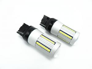 China super canbus  High Power 66-SMD white and Amber 7440 W21W T20 LED Bulbs For Car Front Turn Signal Lights, No Hyper Flash on sale