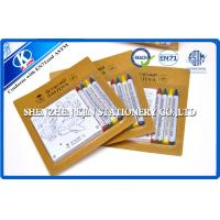 China Customized Drawing Art Stationery Set  WIth 4 Pcs Crayon And Notepad on sale