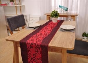 China Restaurant Rectangle Dining Table And 6 Chairs , Canteen Large Dining Room Table on sale