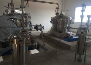 China Stainless Steel Vertical Pressure Filter , Pressure Filtration System For Water Treatment on sale