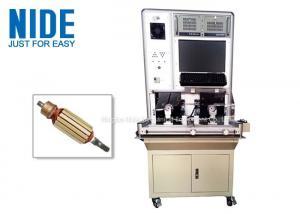 China Automatic Vacuum Cleaner Motor Test Equipment / Armature Testing Machine on sale