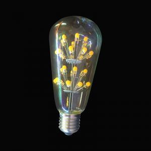 China Modern newest High brightness Edison ST64 3W starry LED bulb E26/E27 Christmas / home decoration Vintage lighting bulb on sale