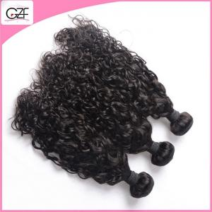 China 8A Cambodian Remy Virgin Hair Bundles Black Kinky Afro Curly Human Hair Weft Extensions on sale