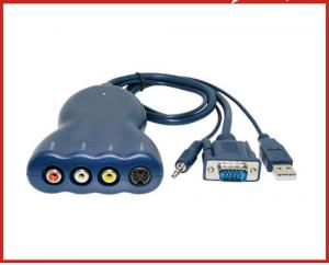 China LKV3000 PC to TV Converter with Audio on sale