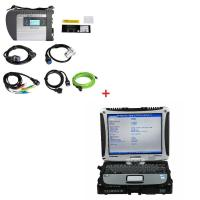 Multi-language WIFI MB Star SD C4 Mercedes Benz Diagnostic Tool Plus Panasonic CF19 i5 CPU 4G memory
