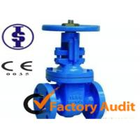 Flange Cast Iron Gate Valve / Automated Gate Valves for Industrial Oil Pipe