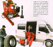 China mobile car tyre changer on sale