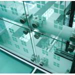 Низкой панели утюга закаленные таможней стеклянные, безопасность прокатанный стеклянного фильма