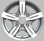 las ruedas de la aleación de la pulgada 12X4.5, cromo del coche alean la rueda para después del mercado