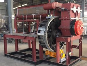 China Rotary Logo Brick Making Production Line Made in China by Henan Ling Heng Machinery Company on sale