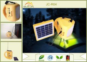 China Multifunction 1W Solar LED Emergency Light with 18650 Li-ion Battery on sale