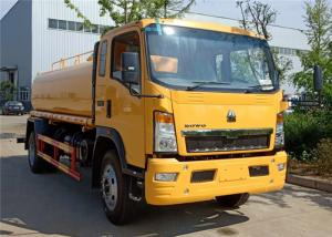 China Sinotruck HOWO 4x2 6 Wheeler 10 Tons Water Tanker Truck 10000 Liters Water Sprinkler Truck on sale