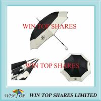 China Famous Advertisement Logo Umbrella with Crystal J Handle on sale