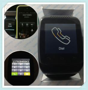 China 2014 Hot Sell Phone Watch Pedometer Call Notification Anti-Lost Snapshot Smart Watch on sale