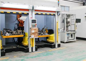 China 6 Axises Frame Structure Automated Welding Systems For Medical Equipment on sale