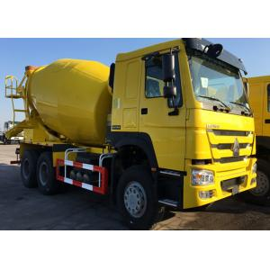 China 3 Axles Concrete Mixer Truck  For Construction Ten Wheels LHD Steering on sale