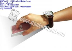 China XF Omega Watch Camera For Scanning Bar-Codes Marked Cards For Poker Analyzer on sale