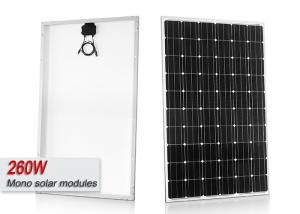 Quality 260 Watt Monocrystalline Solar Panel With High Wind Pressure Resistance for sale