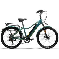 China 400W Motor 18AH Portable Mountain Bike 6061 Aluminum Alloy Frame Double Wall Rim on sale