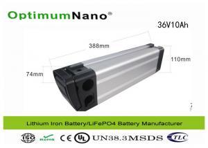 China 10Ah Electric Bike Battery Pack , CC CV Energy Power Lithium Bike Battery on sale