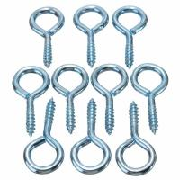 China Commercial Hardened Eye Bolts , Stainless Steel Screw Eye Bolts on sale