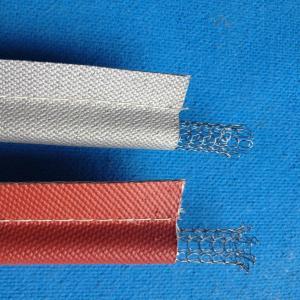 Long Lifetime Silicone Coated Fiberglass Cloth , 8H Plain